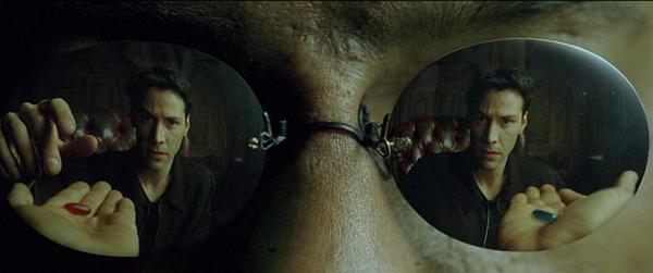 <em>The Matrix</em>: Which pill do you choose?