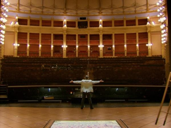 Fry also visits the holy of Wagnerian holies — the Bayreuth Festival Theater, built by the composer to showcase his works.