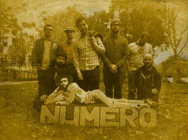 The staff of the reissue label the Numero Group.