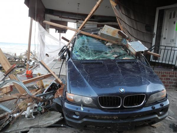 A wake-up call? The Rockaways area in New York after Sandy.