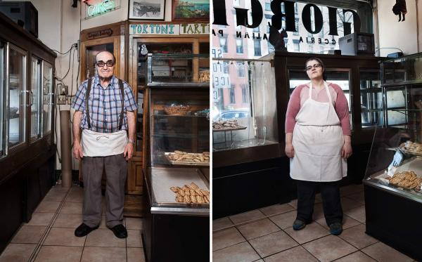 Giorgio Pasticcerie Italian bakery is owned by a father-and-daughter pair: Giorgio, who moved to Hoboken from Italy, and his daughter, Mary Grace, a first-generation American.