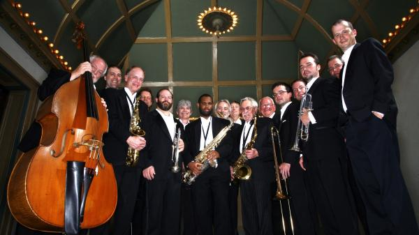The Knoxville Jazz Orchestra's new album is called <em>Christmas Time Is Here</em>.