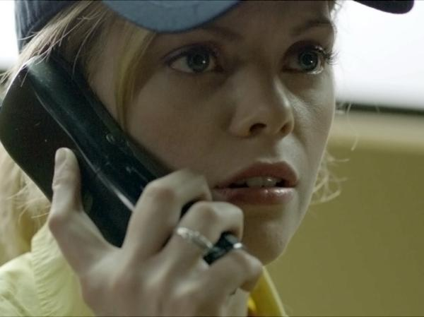 Dreama Walker in <em>Compliance</em>.