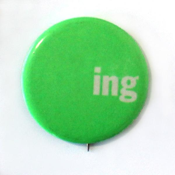 In another 1960's-era race, Ernest Gruening, the former Alaska Governor and Senator, ran for his final reelection in 1968. His supporters turned his name into a rebus on a button.