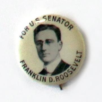 Before Franklin D. Roosevelt was elected president, or governor of New York, or before he was a VP candidate, FDR sought the Democratic nomination for the U.S. Senate (NY) in 1914. And he lost, badly.
