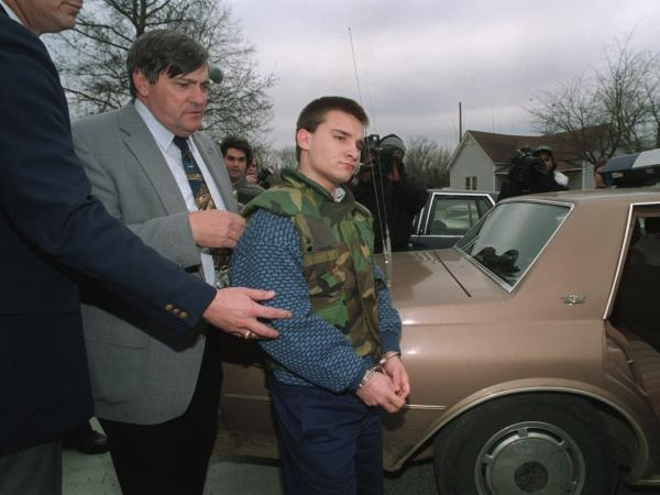 Jessie Misskelley after his murder conviction.