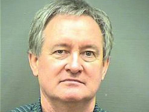 Republican U.S. Sen. Michael Crapo of Idaho was arrested early Sunday morning and charged with driving under the influence in a Washington, D.C., suburb, authorities said. The booking photo was provided by the police department in Alexandria, Va.