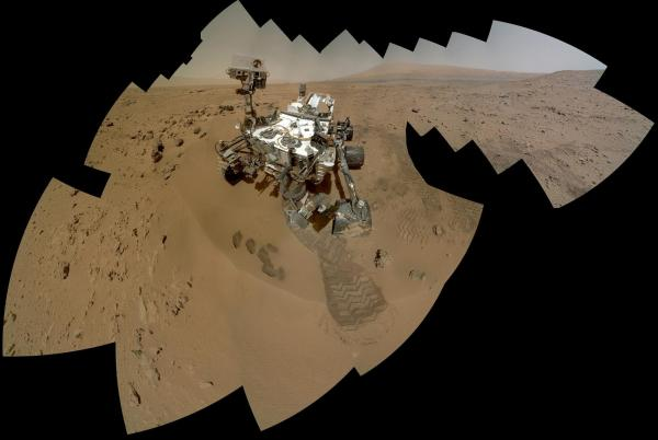 Curiosity's self-portrait, captured on Oct. 31 and Nov. 1.