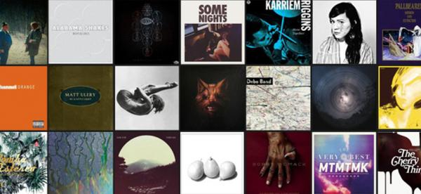 NPR Music's 50 Favorite Albums of 2012.