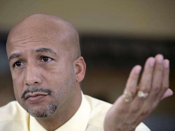 New Orleans Mayor Ray Nagin can't run again because of term limits, but his presence looms in the race.