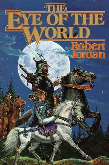 <em>The Eye of the World</em>, released in 1990, was the first of 14 volumes of the epic <em>Wheel of Time</em> series.
