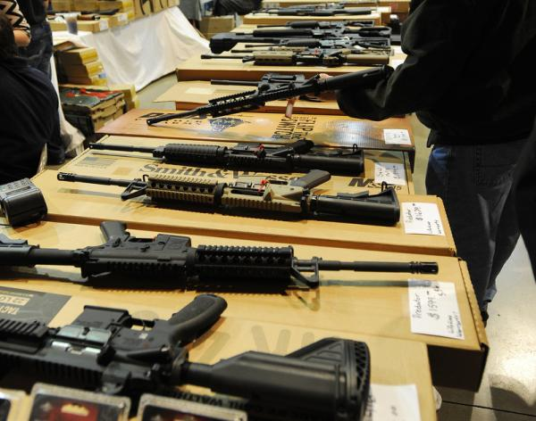 At the Great Southern Gun and Knife Show in Birmingham, Ala., over the weekend, rows of weapons drew a record crowd.