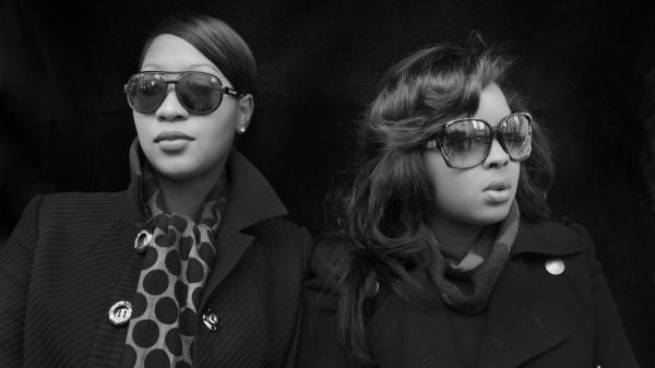 Terri Walker (left) and Nicole Wray, whose album, <em>Lady</em>, will be out on March 11.