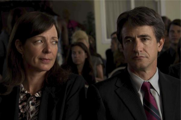 Sheryl (Allison Janney) is too focused on her flighty ex-husband, Neal (Dermot Mulroney), to properly parent her son.