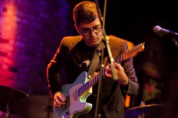 Guitarist Rafiq Bhatia led a proggy, dense quartet.