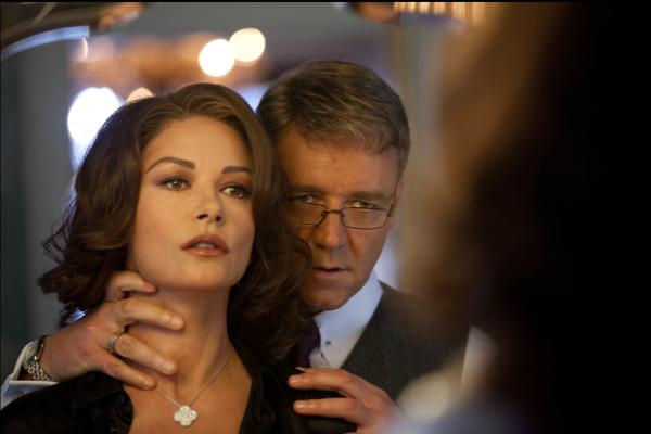 Mayor Hostetler (Russell Crowe) hopes to gain as much control over his wife, Cathleen (Catherine Zeta-Jones), as he has over the city of New York.