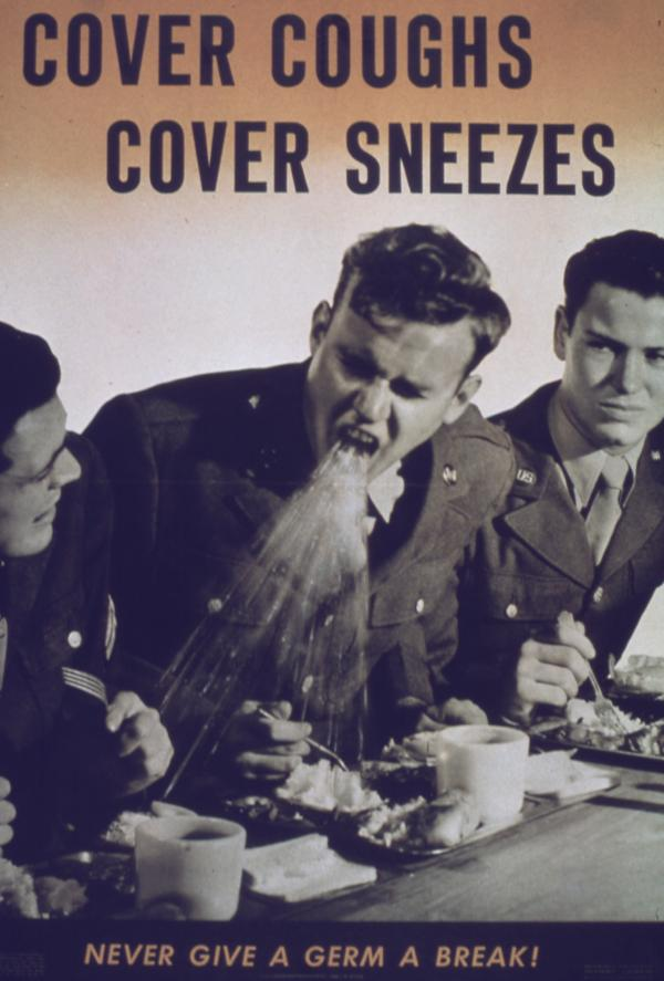 A health poster from World War II carries a message that still rings true.