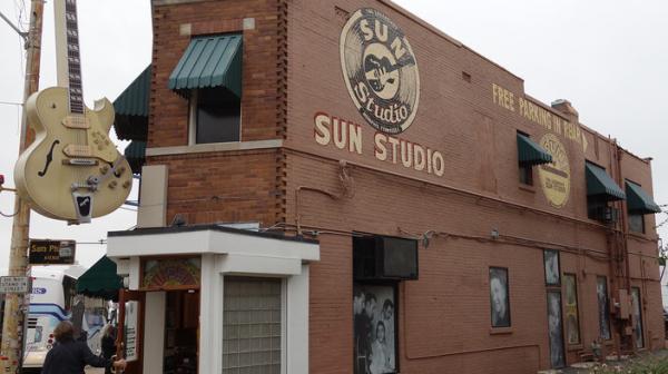 Sun Studio in Memphis.