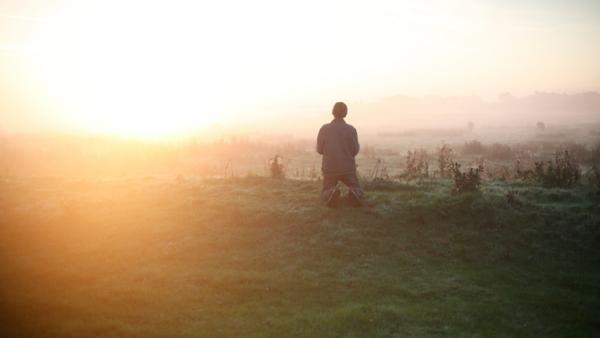 "In Bruno Dumont's <em>Hors Satan</em>, the unnamed Guy (<a href=""http://www.imdb.com/name/nm0223029/""></a>David Dewaele) turns to nature for solace and spiritual comfort."