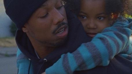 A scene from director Ryan Coogler's <em>Fruitvale, </em>an entry in this year's U.S. Dramatic Competition at the Sundance Film Festival. It dramatizes the 2009 shooting of an unarmed man by a Bay Area transit police officer.
