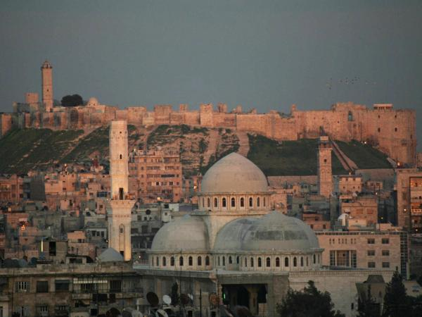 Aleppo, shown in March 2006, is the largest and oldest city in Syria. Now a battleground for rebels and the Syrian government, it was once a prosperous cultural hub.