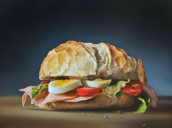 <em>Broodje gezond II, 2009</em> (Tjalf Sparnaay)