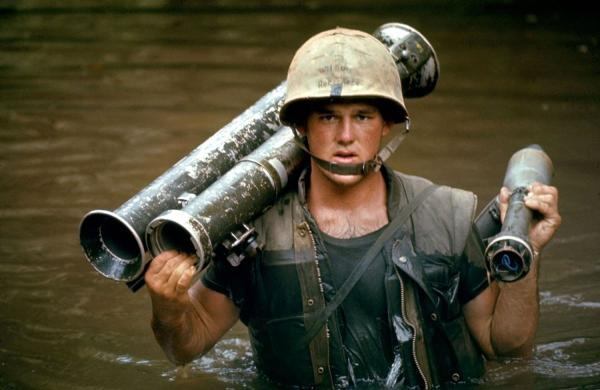 U.S. Marine in Vietnam, October 1966.