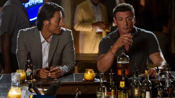 Sung Kang plays a D.C. cop at large in New Orleans, where he finds himself in an uneasy alliance with hit man Sylvester Stallone in the blues-rock driven crime drama <em>Bullet to the Head.</em>
