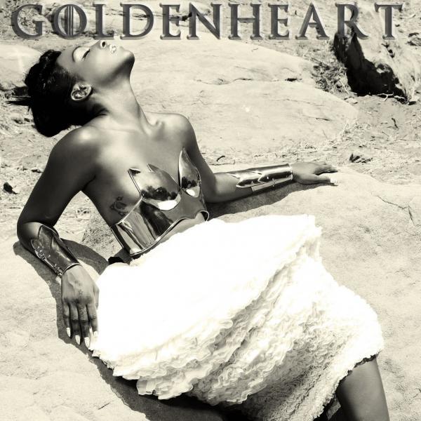 The cover of Dawn Richard's <em>Goldenheart</em>.