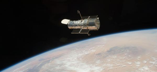 "Big science in orbit: the <a href=""http://www.nasa.gov/mission_pages/hubble/main/index.html"">Hubble Space Telescope</a>"