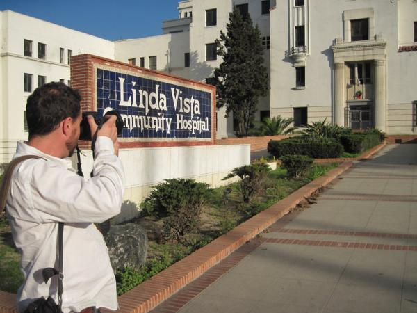 Location scout Doug Dresser needs creepy places for a teen fantasy-adventure film. One possibility: the old Linda Vista Community Hospital, built in 1904. Supposedly it's haunted.