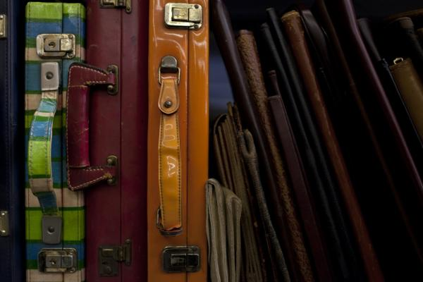 These briefcases from the 1960s and '70s are used when the prop master really needs to emphasize the time period. History for Hire specializes in hard-to-find historical props.