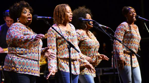 The McCrary Sisters on <em>Mountain Stage.</em>