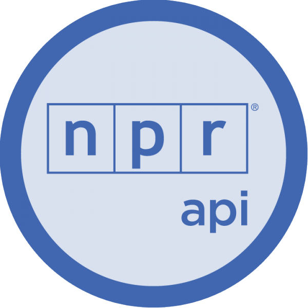 The NPR badge for Codecademy API courses.