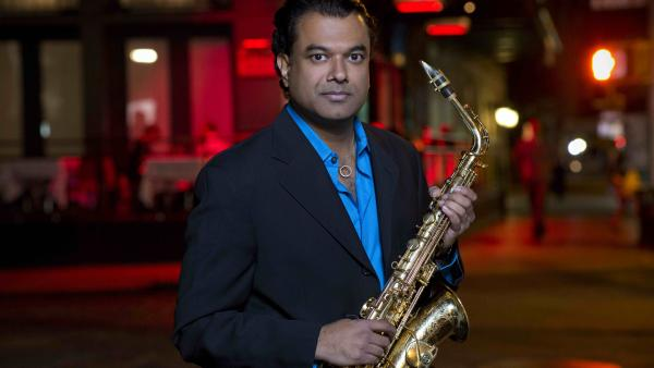 Rudresh Mahanthappa's new album, <em>Gamak</em>, comes out Jan. 29.
