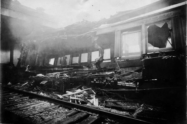 The fatal 1902 collision that led to the construction of today's terminal claimed the lives of more than a dozen people.
