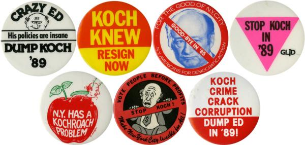 As the city faced new problems, Koch's popularity sunk in the later years of his tenure.