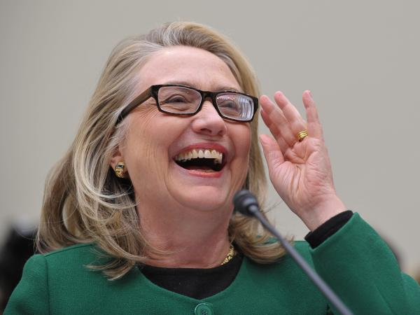 After decades in the public spotlight, Hillary Clinton gets the last laugh as a master of public speaking.