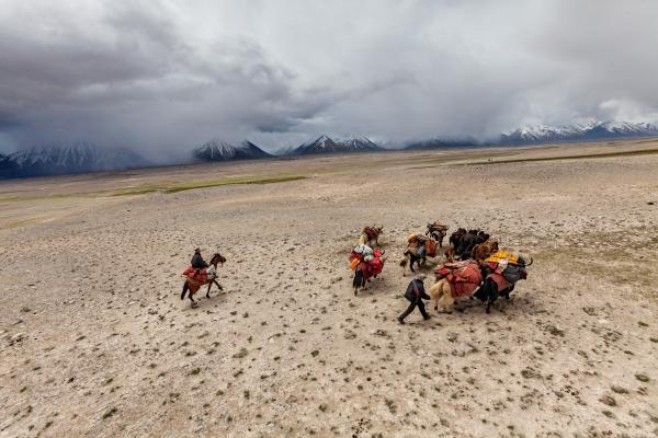 Nomads by necessity, the Kyrgyz move their herds across the Wakhan, a panhandle of alpine valleys and high mountains in northeastern Afghanistan.