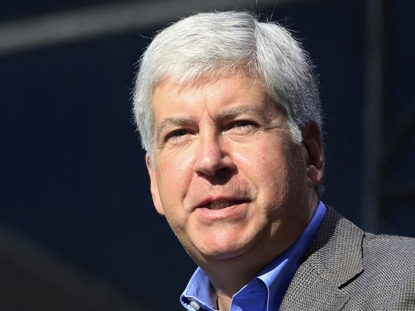 Michigan Gov. Rick Snyder, a Republican, favors a federally subsidized expansion of Medicaid in his state.