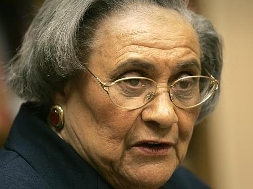 Essie Mae Washington-Williams is the biracial daughter of the late Sen. Strom Thurmond, R-S.C.  She passed away February 4, 2013.