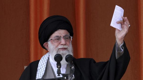 Ayatollah Ali Khamenei.