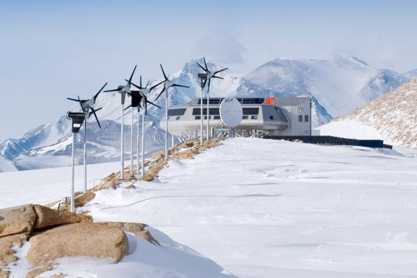 The Princess Elisabeth research station is the world's first zero emission polar research station.