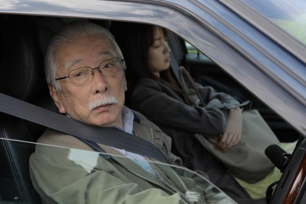 The age difference between Takashi (Tadashi Okuno) and Akiko transforms Takashi from a paying john into surrogate grandfather for the child-like student.