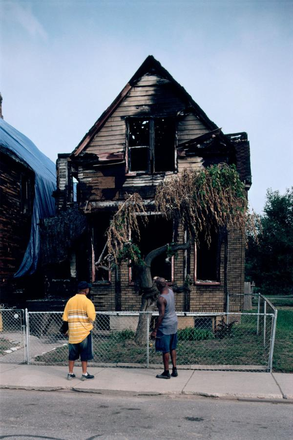 "An image from the ""Detroit Is No Dry Bones"" exhibit at the National Building Museum. (Camilo José Vergara, <em>3497 Mack Avenue, Detroit, 2007</em>)"