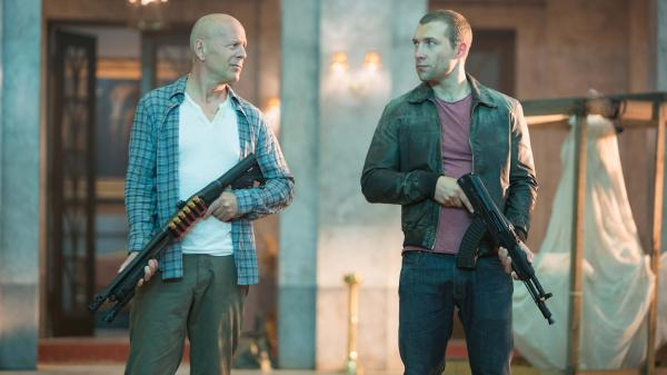 In the latest <em>Die Hard</em> franchise entry, John McClane (Bruce Willis) and his son, Jack (Jai Courtney), team up to fight nuclear-weapons thieves.