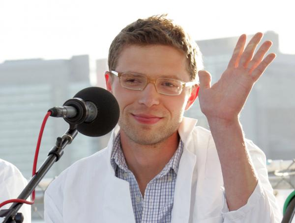 Jonah Lehrer attends a panel discussion for the World Science Festival in 2008.