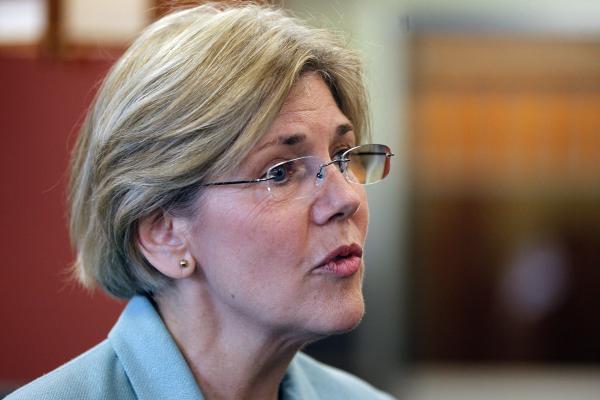 U.S. Senator Elizabeth Warren.