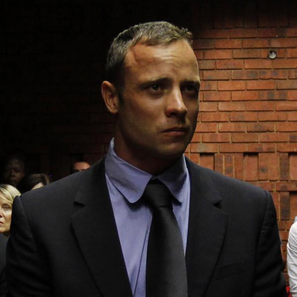 Oscar Pistorius in a Pretoria court Tuesday.