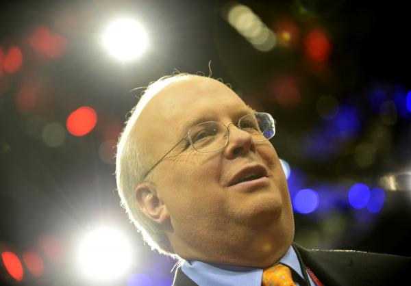 American political consultant Karl Rove.